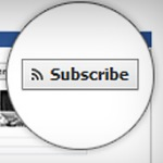New Facebook Subscribe Button