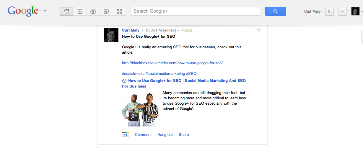 How to Use Google+ for SEO
