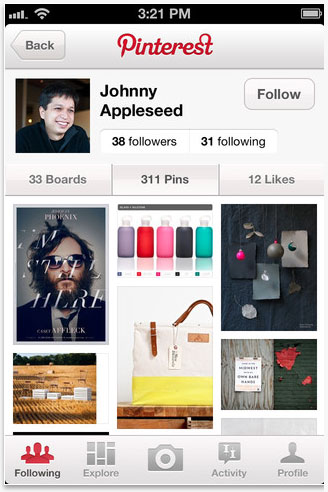 pinterest for iphone Courses in Online Marketing: Pinterest
