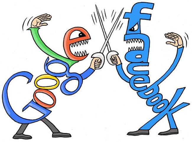 google vs facebook1 What Should Be Your Expectations of Google+?