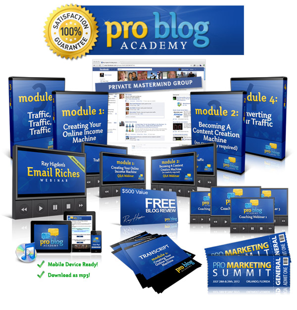 Pro Blog Product Image