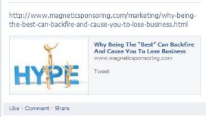 tweet auto preview 300x171 Top Facebook Mistakes to Avoid