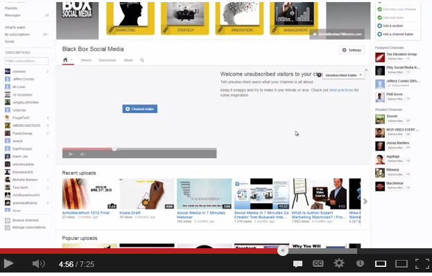 Tips on How to Convert to the New YouTube Channel Design 2013