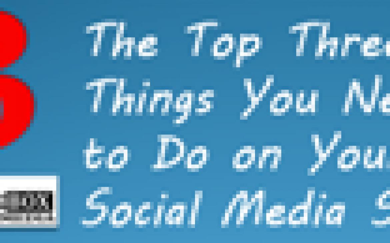 3 tops things social media sites