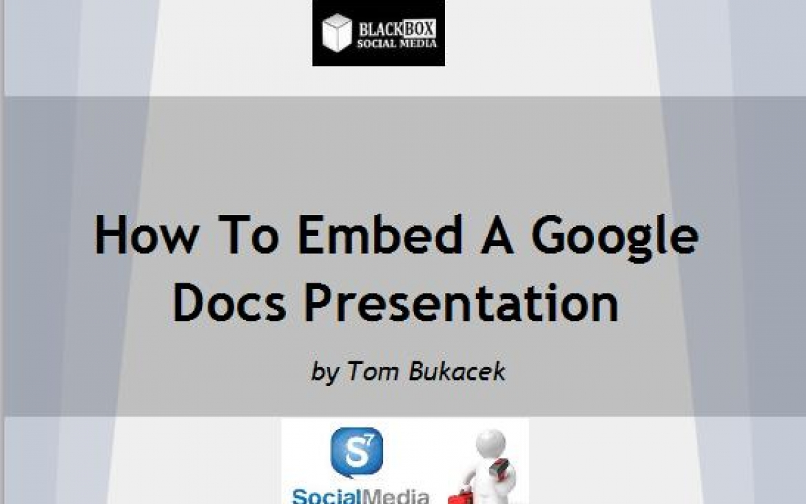 how to make presentation in google docs